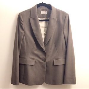 Planet Vintage Two Buttons Brown/Taupe Blazer